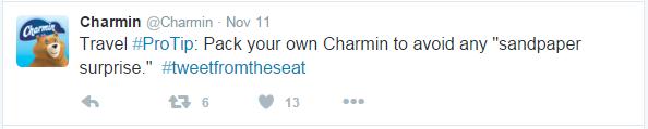 tweet charmin 1