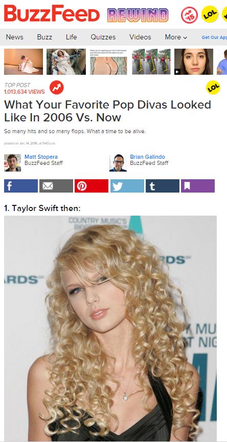 Buzzfeed 2006