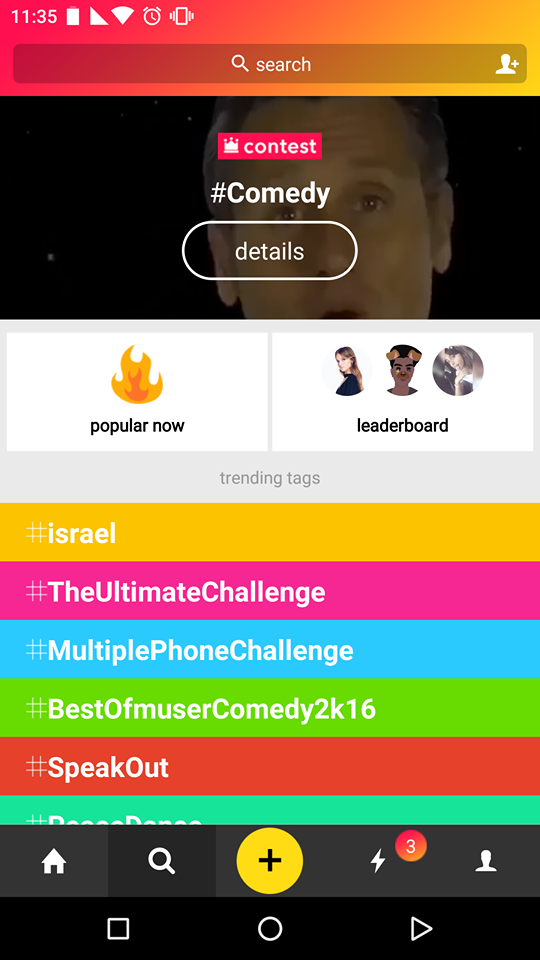 Search Musical.ly