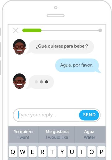 Duolingo chatbot 1